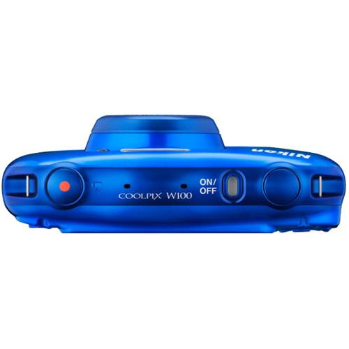 Coolpix W100 Blue