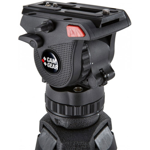 Mark 6 MS Video Tripod Kit. Includes Pan/Tilt Head