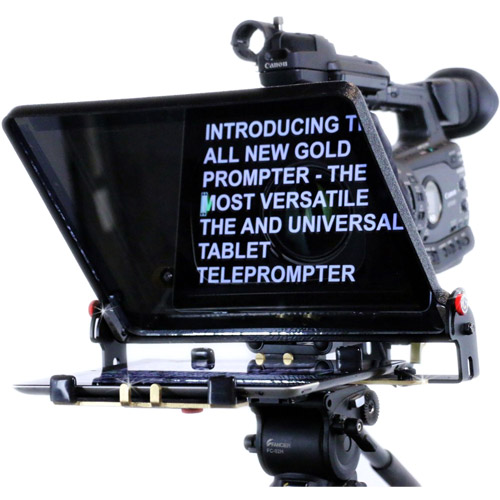 telmax teleprompters the gold prompter tel gold teleprompter