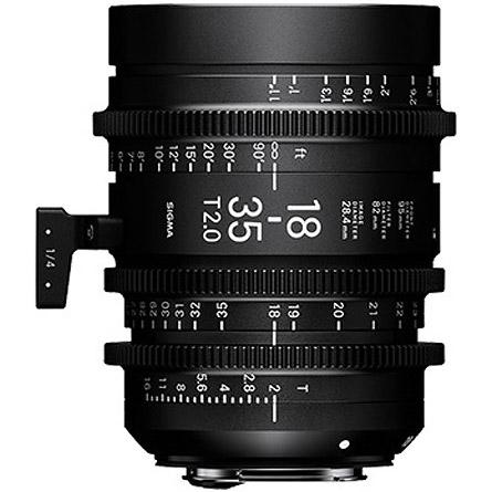 18-35mm T2 + 50-100mm T2 Cine Lens for Canon EF Mount w/ Case PMC-001 Super 35mm Format