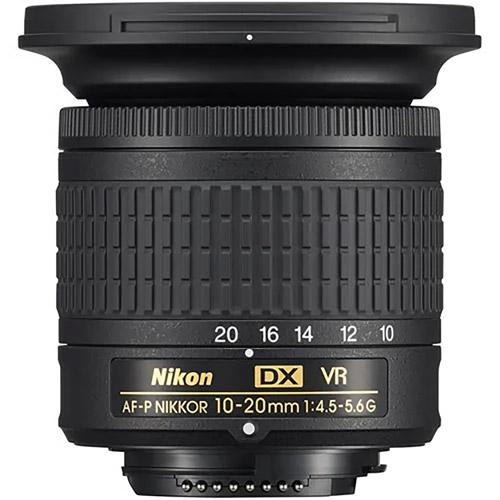 AF-P DX Nikkor 10-20mm f/4.5-5.6 G VR Lens