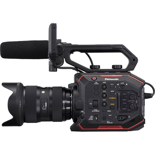 AU-EVA1 Compact 5.7K Super 35mm Cinema Camera