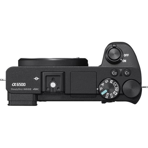Alpha A6500 Mirrorless Black Kit w/ SEL 16-50mm Power Zoom Lens