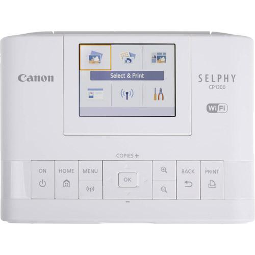 SELPHY CP1300 Compact Photo Printer (White)