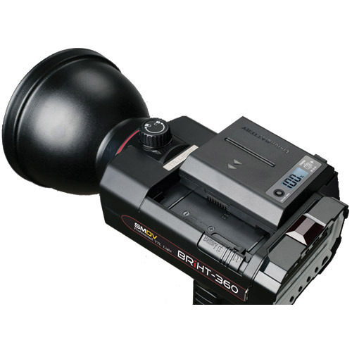 BRiHT-360 TTL Flash with FlashWave-5 TX TTL Nikon