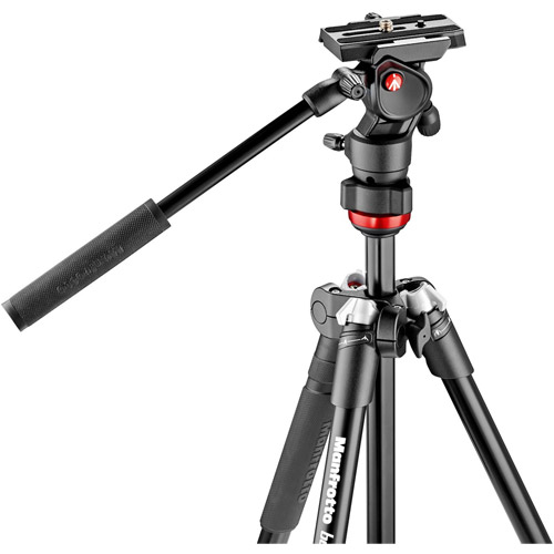 Befree Aluminum Tripod with Fluid Head/ MVH400AH FLUID HEAD