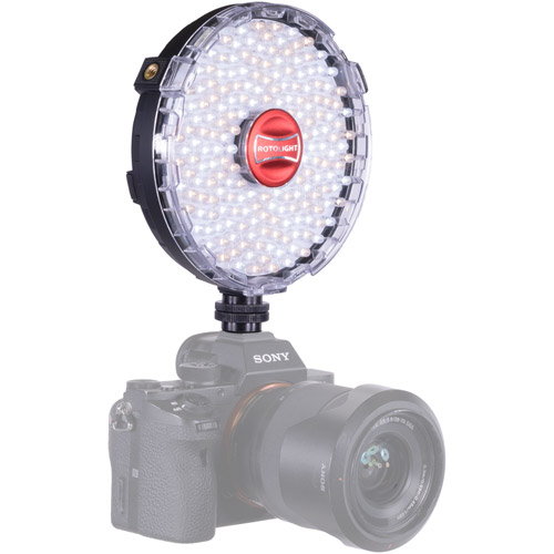 NEO II LED Light with Filter Set, Cold Shoe, AC and Pouch