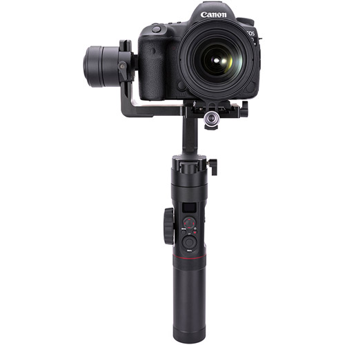 Crane 2 - 3-Axis Camera Stabilizer with Follow Focus Servo Motor, OLED Display, and QR Plate