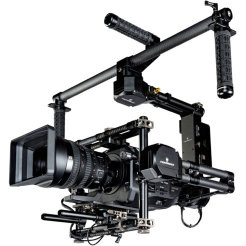 Gravity 3 Axis Handheld Gimbal System Gold Mount