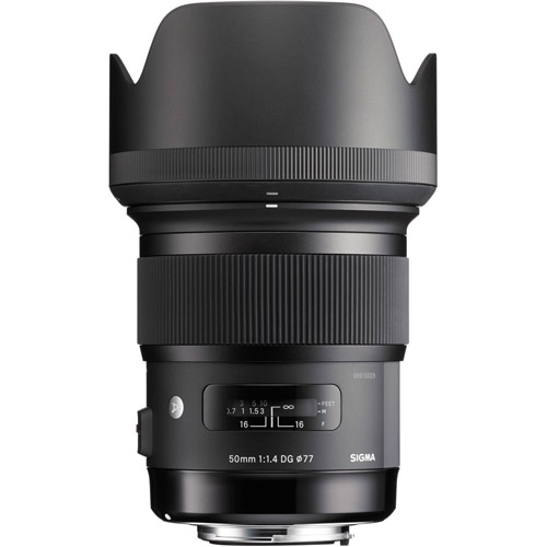 ART 50mm f/1.4 DG HSM Lens for Sony E-Mount
