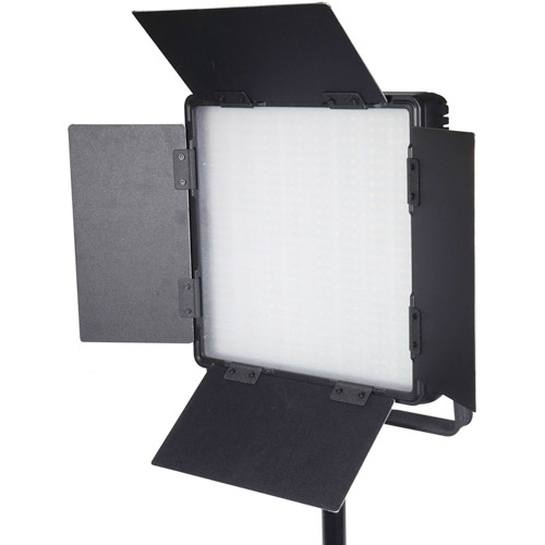 LG-600SC LED Light 5600K with V Mount, Barndoors, WiFi, Diffuser, DC Adapter and Filters