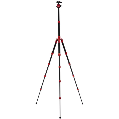 Backpacker S Carbon Fibre Tripod Red