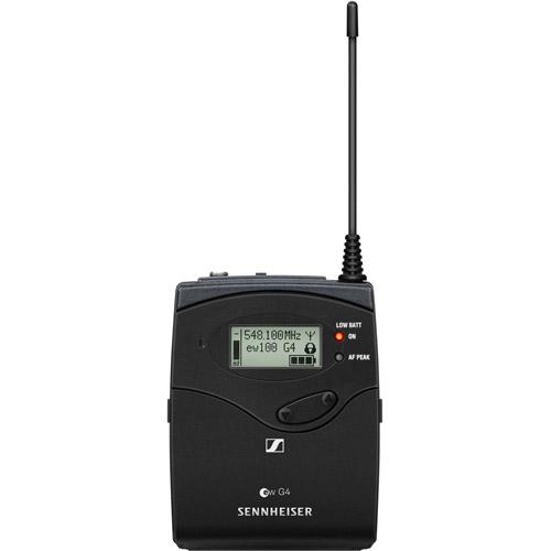 EW112P G4 Camera Mount Wireless Mic System  w/ ME2-II Lavalier Mic - A1: 470 to 516 MHz