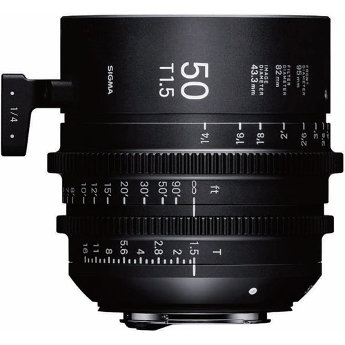 7pc Cine Prime Lens Kit (PL) 14/135mm T2 FF + 20/24/35/50/85mm T1.5 FF + Case PMC-004