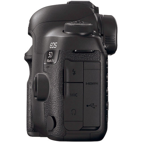 EOS 5D Mark IV DSLR Body with Bonus BG-E20 Battery Grip, and Bonus Battery