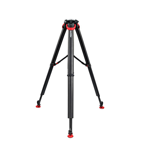 Sachtler Tripod Flowtech 100 MS With Mid-Level Spreader And Rubber Feet