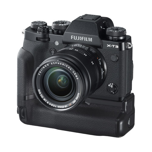 Fujifilm X-T3 Mirrorless Body Black & VG-XT3 Grip