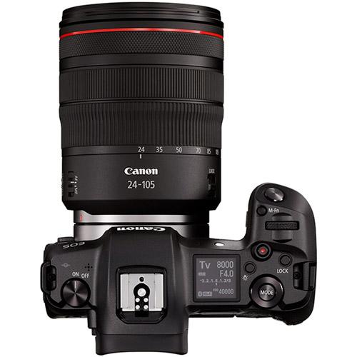 EOS R Full Frame Mirrorless Kit w/RF 24-105 f4 L IS USM Lens, incl EF-EOS R Lens Mount Adapter