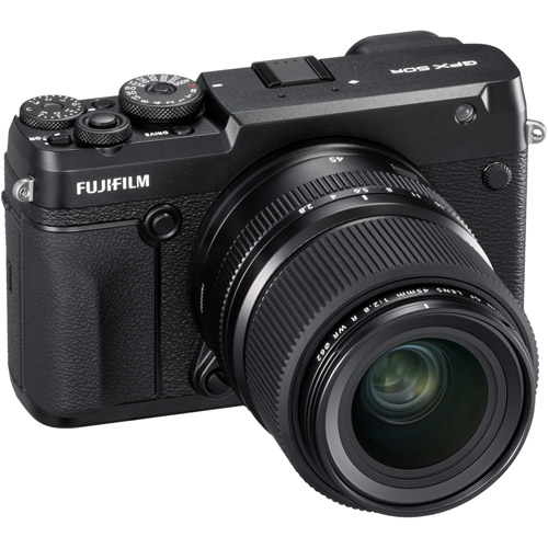Fujifilm GFX 50R Medium Format Mirrorless Body (no lens) 51.4MP