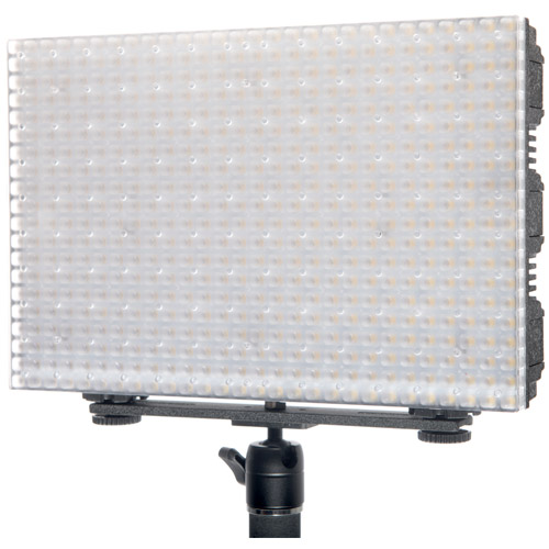 LG-B560II LED Light 5600K with 2 x AA Battery Pack Handle, Barndoor, Filter and AC Power Supply