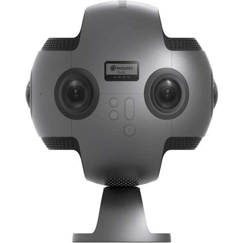Pro 8K Spherical VR Camera with Nano Spherical VR Video Camera and Battery PROMO