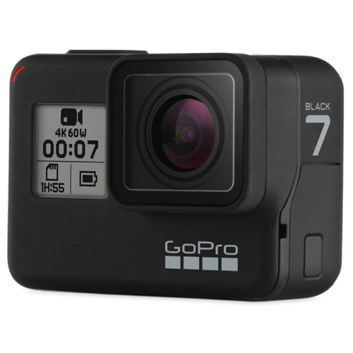 HERO7 Black Bundle w/Rechargeable Battery H7 and Extreme 32GB Micro SDHC A1 UHS-1 U3 Class 10 V30