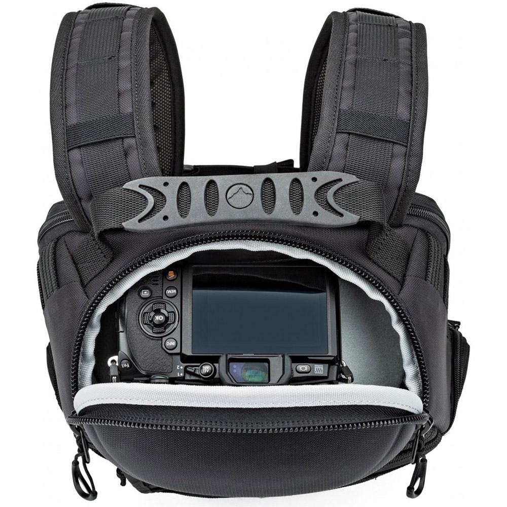 Lowepro Pro Tactic Bp 250 Aw Black 8135105 Notebook Camera Dslr Video Pack 250aw Backpacks Vistek Canada Product Detail
